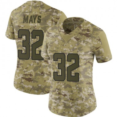 Women's Nike Jacksonville Jaguars Devante Mays 2018 Salute to Service Jersey - Camo Limited