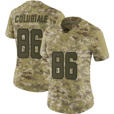 Women's Nike Jacksonville Jaguars Michael Colubiale 2018 Salute to Service Jersey - Camo Limited