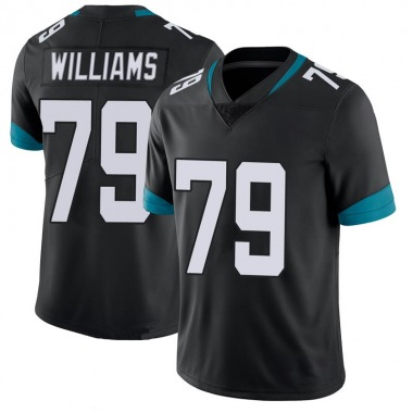 Youth Nike Jacksonville Jaguars Andrew Williams 100th Vapor Untouchable Jersey - Black Limited