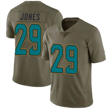 Youth Nike Jacksonville Jaguars Josh Jones 2017 Salute to Service Jersey - Green Limited